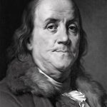 Headshot of Benjamin Franklin