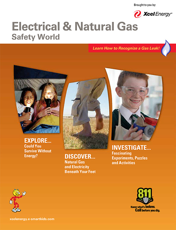 Xcel Electical & Natural Gas Safety World English